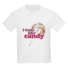 i taste like candy Kids T-Shirt