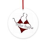 Trailer Trash Ornament (Round)