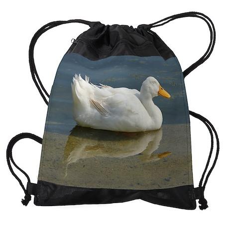 duck.png Drawstring Bag