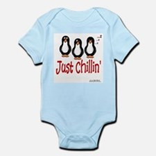 Penguins Chillin' Infant Bodysuit