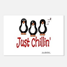 Penguins Chillin' Postcards (Package of 8)