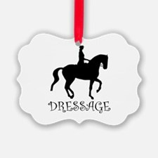 dressage curly singl.png Ornament
