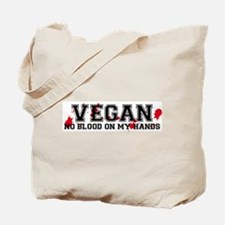 Vegan No Blood Tote Bag