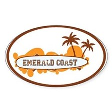 Emerald Coast - Surf Design. Decal