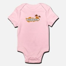 Emerald Coast - Surf Design. Infant Bodysuit