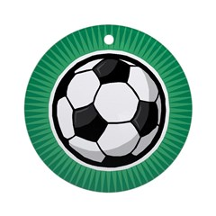 Soccer 2 Ornament (Round)