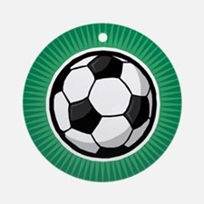 Soccer 2 Ornament (Round)