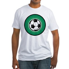 Soccer 2 Fitted T-Shirt