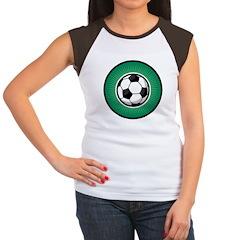 Soccer 2 Women's Cap Sleeve T-Shirt