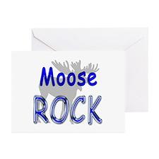 Moose Rock Greeting Cards (Pk of 10)