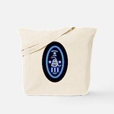 Molon Labe - Vertical Blue Tote Bag