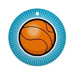 Basketball 2 Ornament (Round)