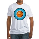 Basketball 2 Fitted T-Shirt