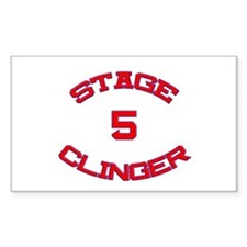 Stage 5 Clinger Athletic Rectangle Decal