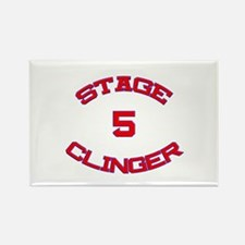 Stage 5 Clinger Athletic Rectangle Magnet (10 pack