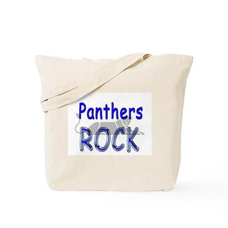 Panthers Rock Tote Bag