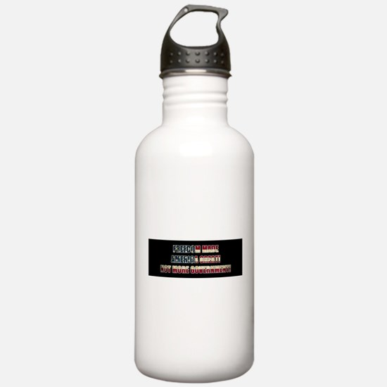 Freedom Not Government BF Water Bottle