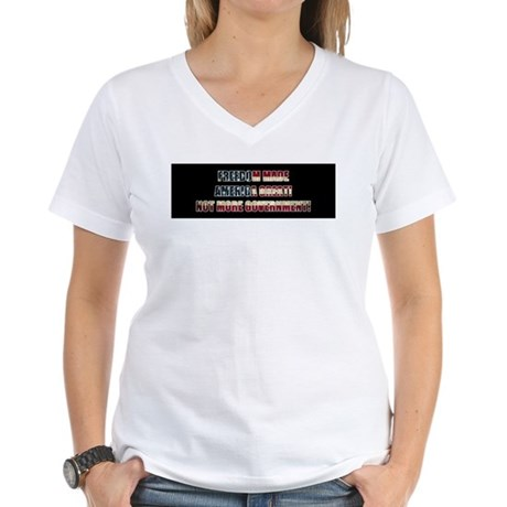 Freedom Not Government BF T-Shirt