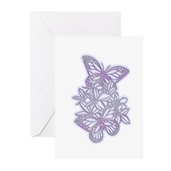 Delicate Butterflies Greeting Cards (Pk of 10)