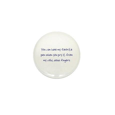 My Favorite Pen Writer's Mini Button
