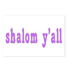 Shalom Y'all Greeting Postcards (Package of 8)