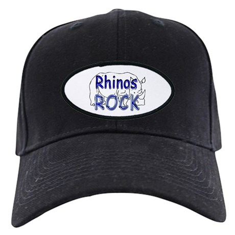 Rhinos Rock Black Cap