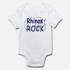 Rhinos Rock Infant Bodysuit