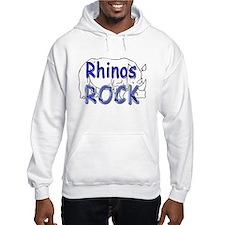 Rhinos Rock Hoodie