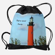 Funny Florida coast Drawstring Bag