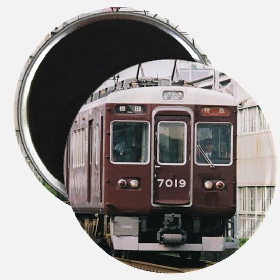 Trains in Japan Magnet