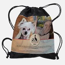 Cute Xolo rescue Drawstring Bag