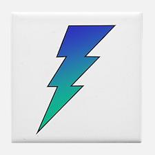 The Lightning Bolt 1 Shop Tile Coaster