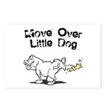 Move Over Little Dog Postcards (Package of 8)