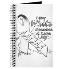 I Wear White Because I Love My Mom Journal