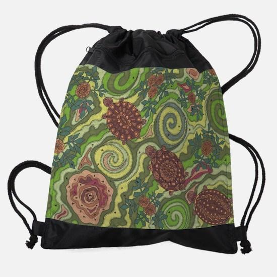 Follow The Leader Drawstring Bag