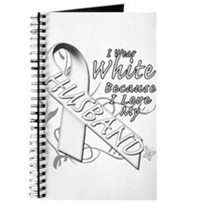 I Wear White Because I Love My Husband Journal