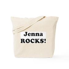 Jenna Rocks! Tote Bag