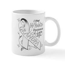 I Wear White Because I Love My Grandpa Mug