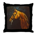 RED CAVESSON Throw Pillow