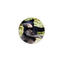 black bear cub Mini Button