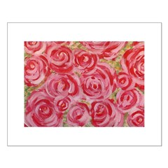 Shabby Chic Roses Posters