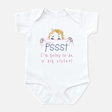 Pssst Big Sister Infant Bodysuit