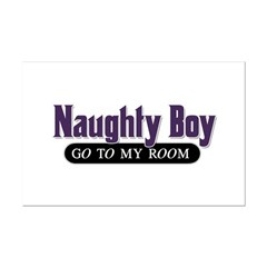 Naughty Boy [Red] Posters