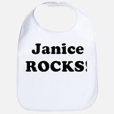 Janice Rocks! Bib