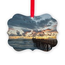 Oceanside Pier Ornament