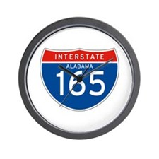 Interstate 165 - AL Wall Clock