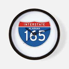 Interstate 165 - AL Wall Clock