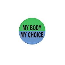 Cute Anti feminist Mini Button