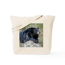 """Wildlife Definition"" Black Bear Tote Bag"