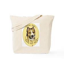 pibull love Tote Bag